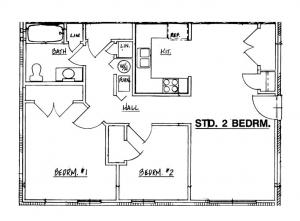Autumn Manor - Elderly 2 Bedroom Unit