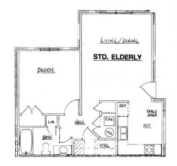 Autumn Manor - Elderly 1 Bedroom Unit