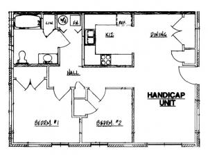 Autumn Manor - Handicap 2 Bedroom Unit