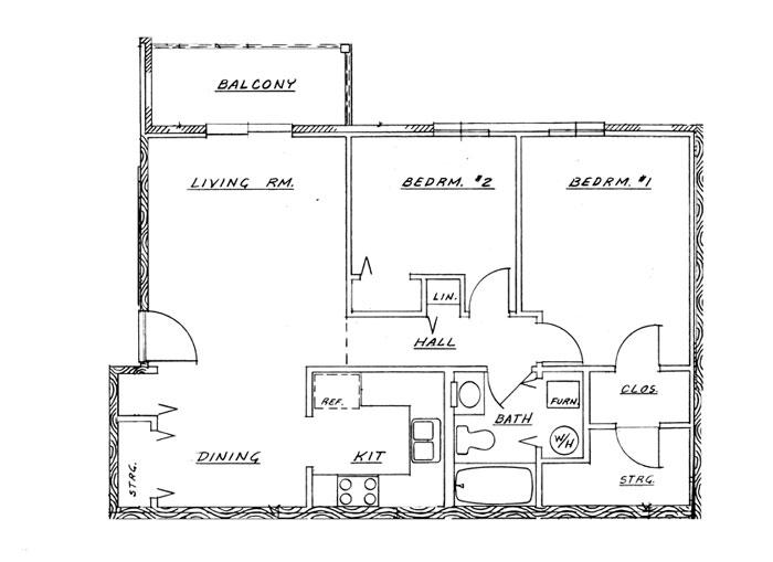 Cedar Grove Phase I - 2 Bedroom Unit