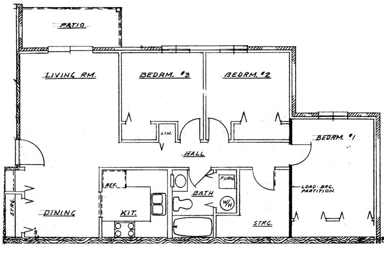 Cedar Grove Phase I - 3 Bedroom Unit