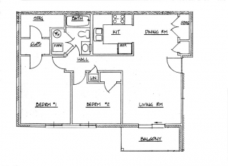 Cedar Grove Phase II - Two Bedroom