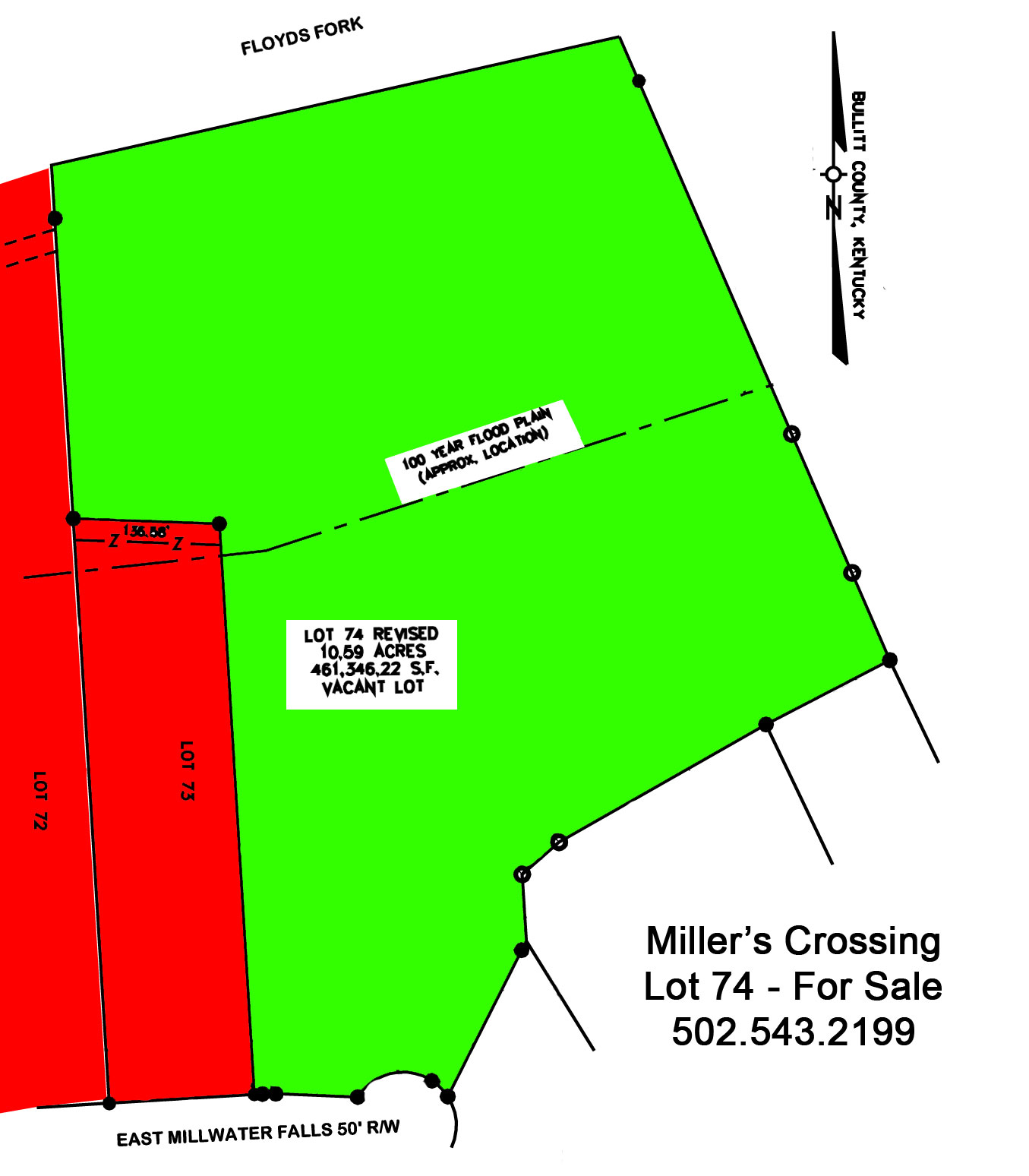 Miller\'s Crossing - Lot 74