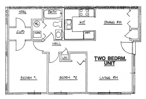 Northside Phase II - 2 Bedroom Unit